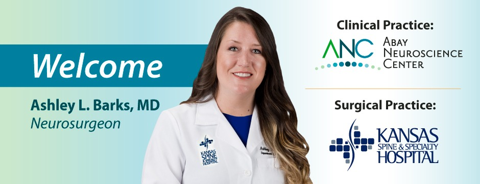 Welcome Ashley L. Barks, MD.